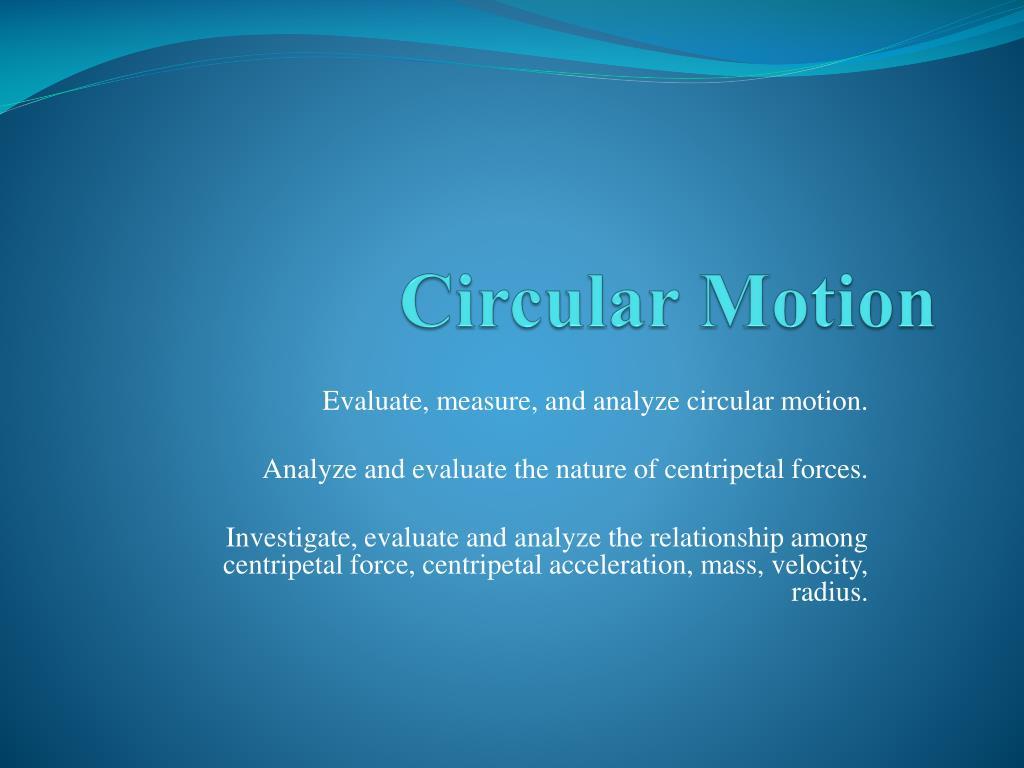 circular motion l.