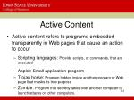 active content