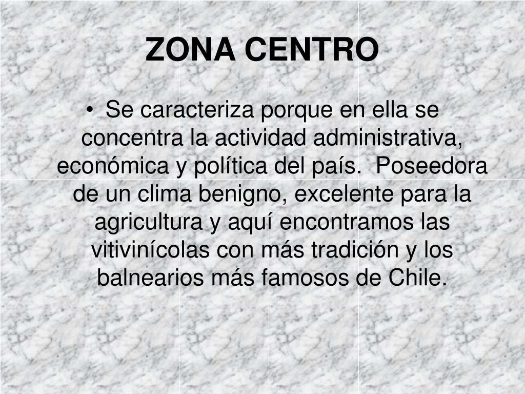 zona centro l.