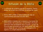 difusi n de la biblia