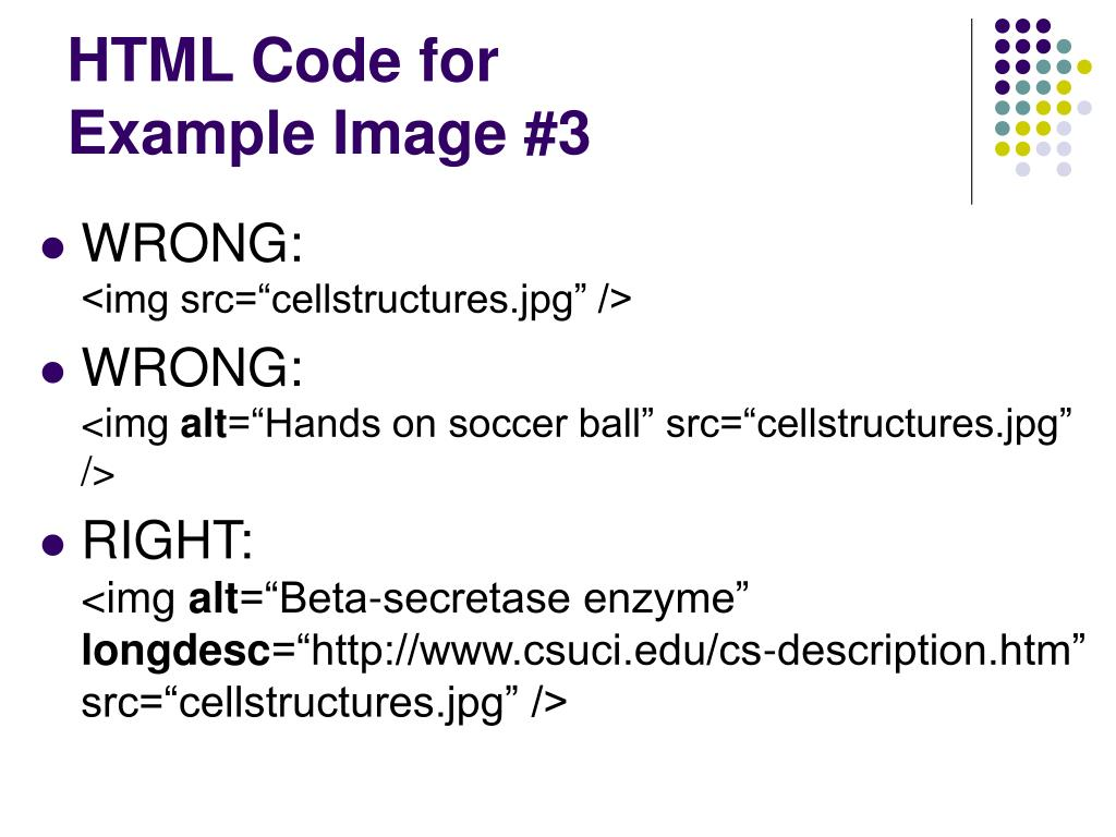 HTML Code for