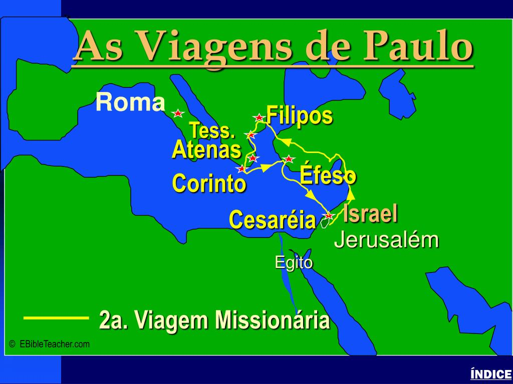 Paul-2nd Missionary Journey