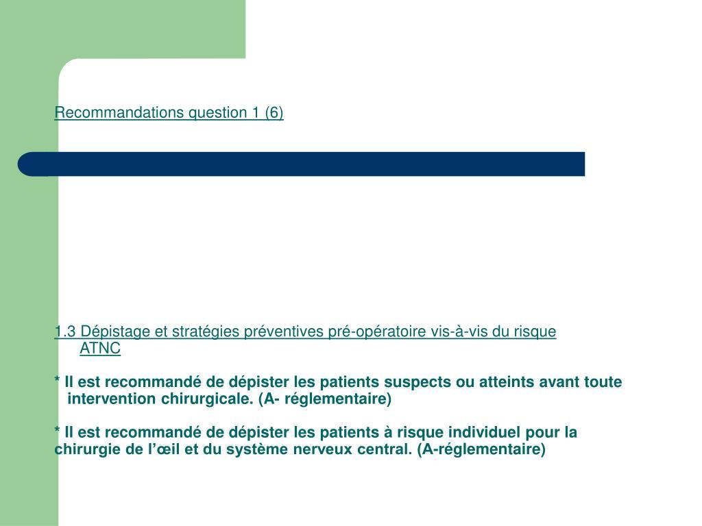 Recommandations question 1 (6)