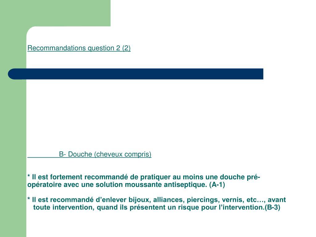 Recommandations question 2 (2)