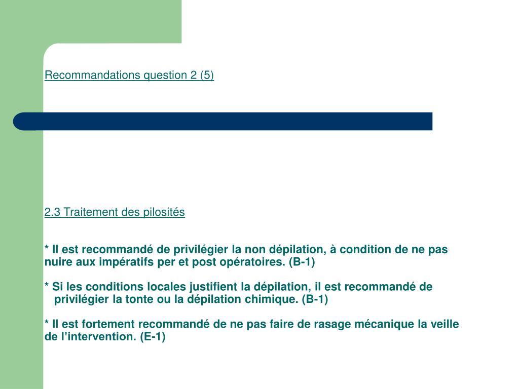 Recommandations question 2 (5)