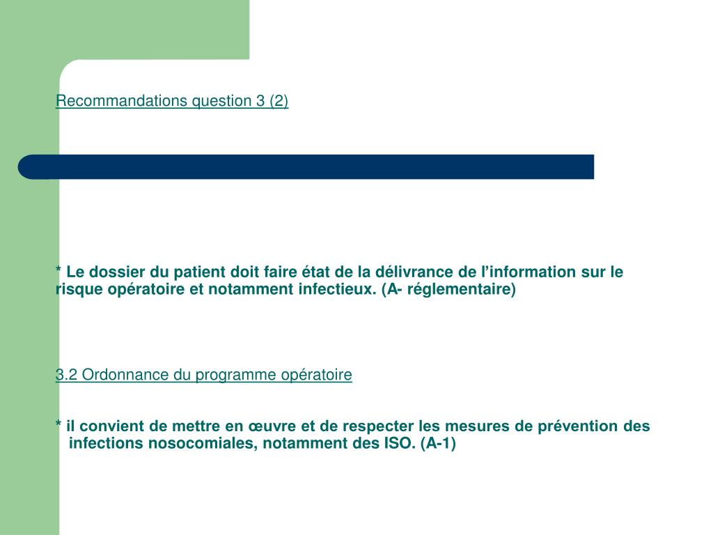 Recommandations question 3 (2)