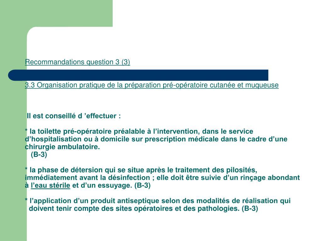Recommandations question 3 (3)