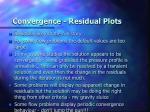 convergence residual plots8