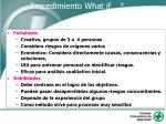 procedimiento what if78