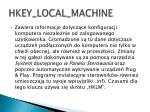hkey local machine