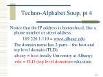 techno alphabet soup pt 419