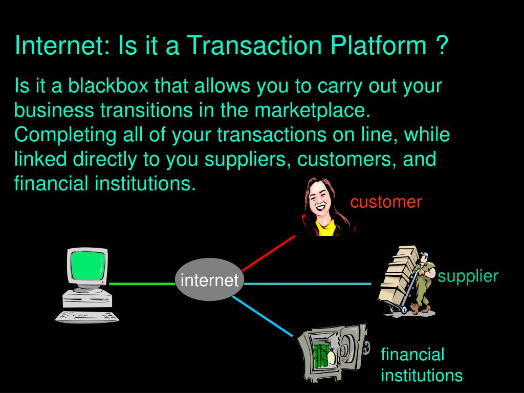 Internet: Is it a Transaction Platform ?