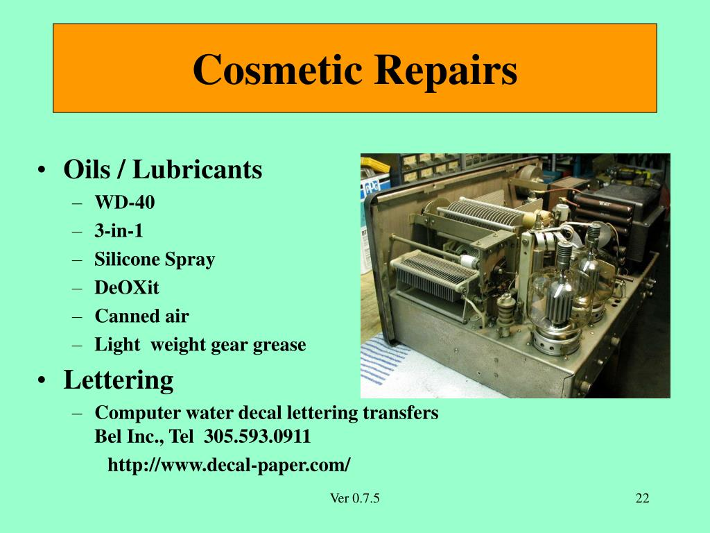 PPT - Introduction to Collecting and Restoring Vintage