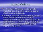 more definitions8