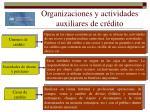 organizaciones y actividades auxiliares de cr dito14