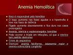 anemia hemol tica