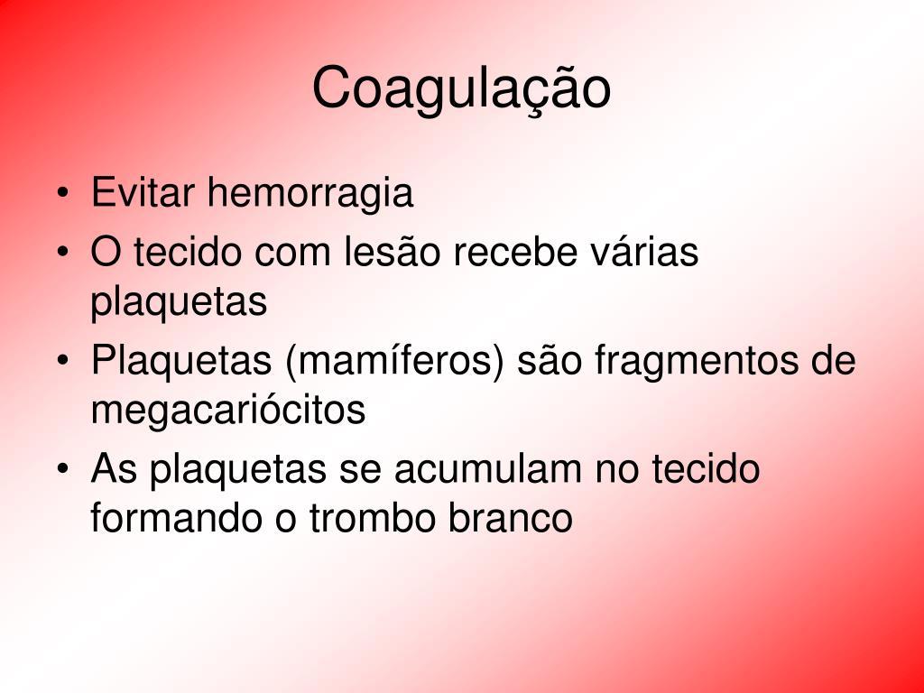 Coagulação