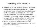 germany solar initiative61