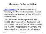 germany solar initiative63