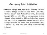 germany solar initiative66