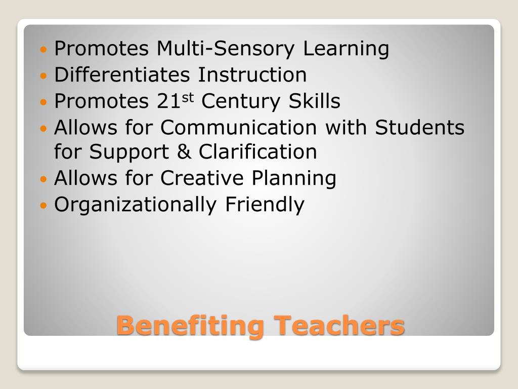 Promotes Multi-Sensory Learning