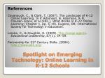spotlight on emerging technology online learning in k 12 schools9