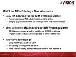mimix for aix offering a new alternative