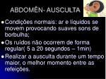 abdom n ausculta12