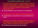 quest es sobre art 129 cp137
