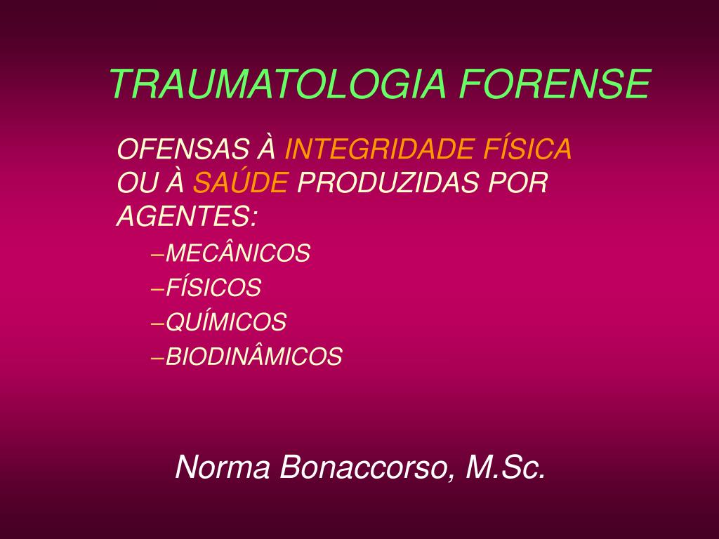 traumatologia forense l.