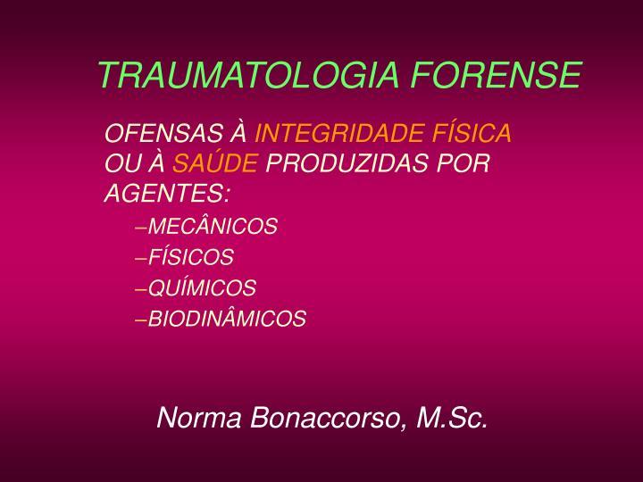 traumatologia forense n.