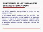 contratacion de los trabajadores extranjeros exceptuados10