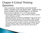 chapter 9 critical thinking questions23