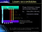 lasers accordables