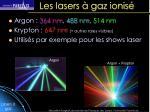 les lasers gaz ionis41