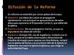 difusi n de la reforma