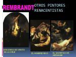 otros pintores renacentistas