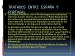 tratados entre espa a y portugal