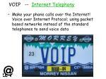 voip internet telephony