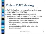 push vs pull technology