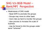 shg v s bgb model bank mfi perspective8