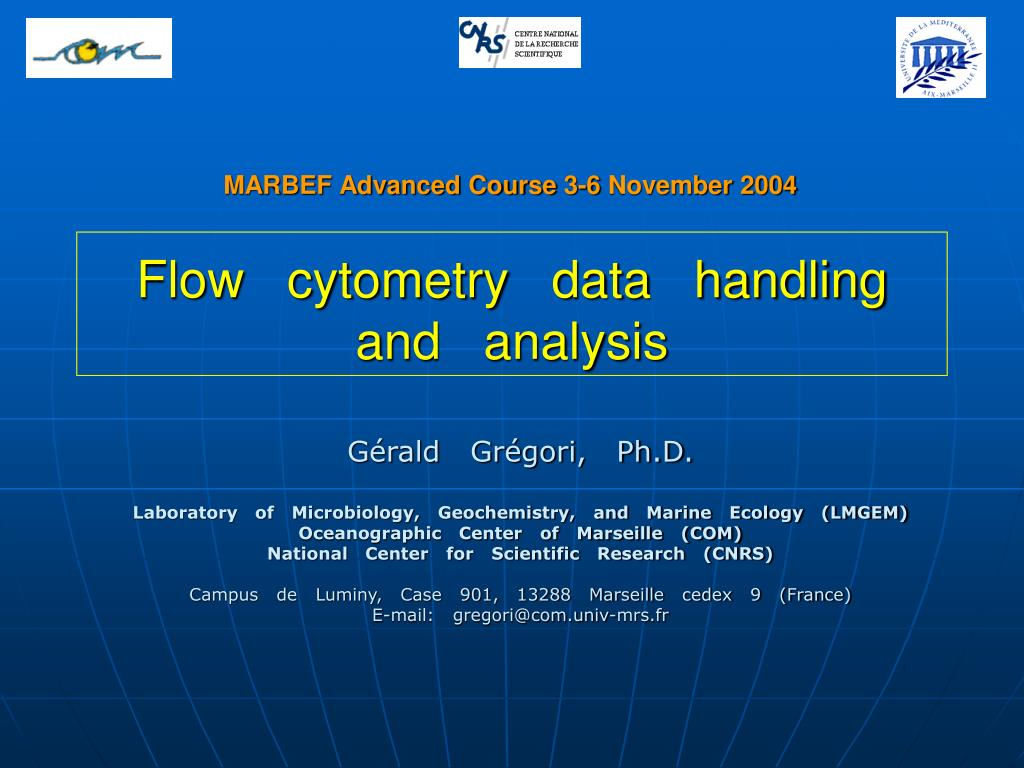 flow cytometry data handling and analysis l.