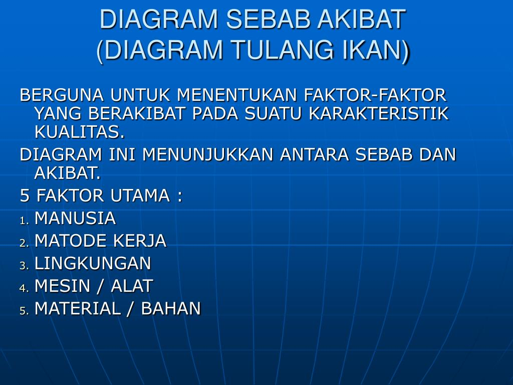 PPT - DIAGRAM SEBAB AKIBAT (DIAGRAM TULANG IKAN ...