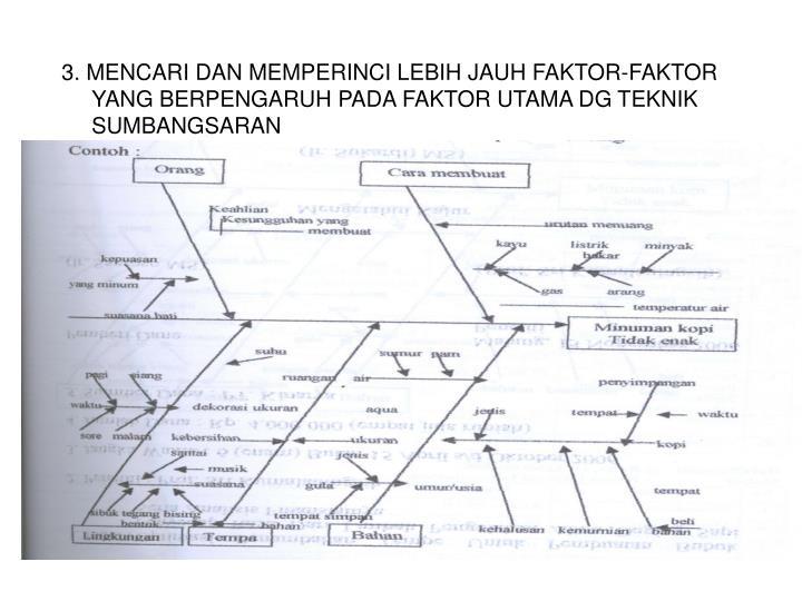 Ppt diagram sebab akibat diagram tulang ikan powerpoint 3 mencari dan memperinci lebih jauh faktor faktor yang berpengaruh ccuart Images