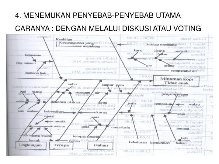 Ppt diagram sebab akibat diagram tulang ikan powerpoint 4 menemukan penyebab penyebab utama ccuart Images