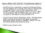 harry allen 345 230 kv transformer bank 2