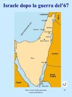 israele dopo la guerra del 67