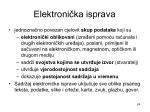 elektroni ka isprava