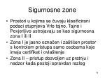 sigurnosne zone