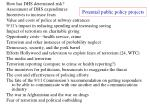 potential public policy projects22